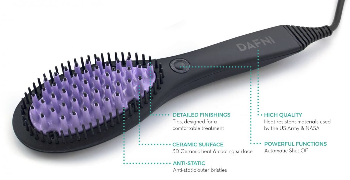 Dafni Brush - annotated parts